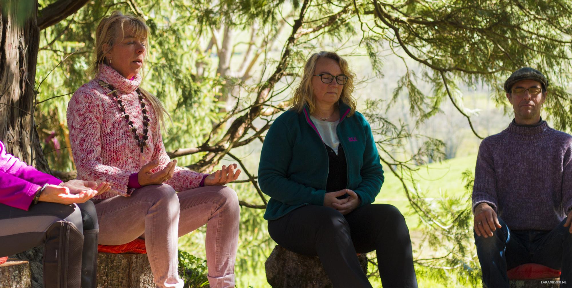 Samen mediteren met Zin-inn